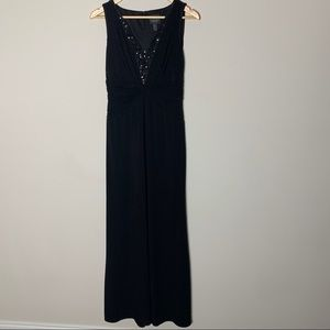 Adrianna Papell Sleeveless Sequin Beaded Dress
